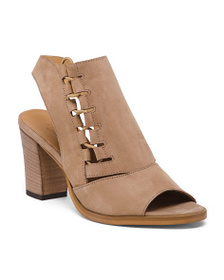 FABIANELLI Made In Italy Stretch Cut Out Suede Sho