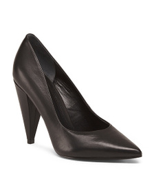 MARC FISHER LTD Pointy Toe Leather Pumps