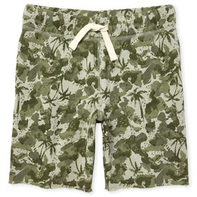 Boys Print French Terry Shorts