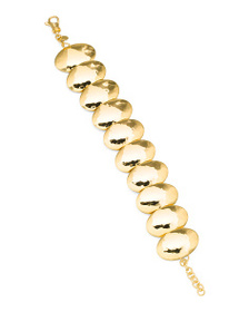 ETRUSCA Made In Italy Oval Disk Bracelet