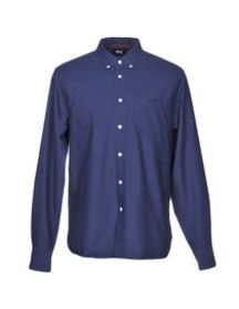 STUSSY - Solid color shirt