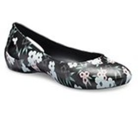 Women's Crocs Laura Printed Flat