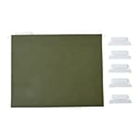 Staples Hanging File Folders, 5-Tab, Letter Size,