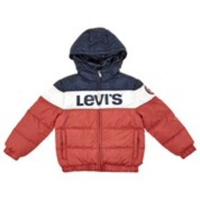 LEVI'S Toddler Boys Levi's Color Block Hooded Puff