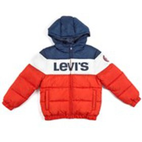 LEVI'S Boys Levi's Color Block Puffer Coat with Ho