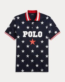 Ralph Lauren Classic Fit Star Mesh Polo