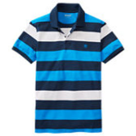 Timberland Men's Millers River Striped Rugby Shirt