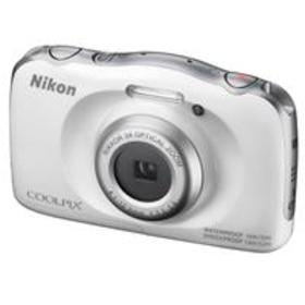 Nikon Coolpix W100 Point & Shoot Camera, White - R