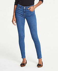Curvy Performance Stretch Skinny Jeans In Classic