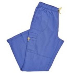 Plus Size Cargo 6 Pocket Scrub Bottoms
