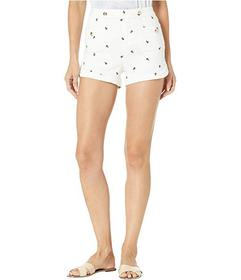 Juicy Couture Anchor Embroidery Denim Shorts