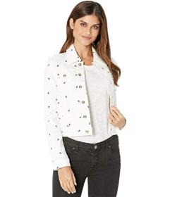 Juicy Couture Anchor Embroidery Denim Jacket