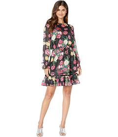 Juicy Couture Botanical Floral Dress