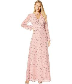 Juicy Couture Tossed Floral Maxi Dress
