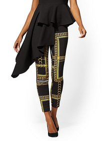 Whitney High-Waisted Pull-On Ankle Pant - Link Pri