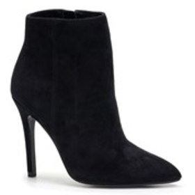 Womens Suede Pointed Toe Booties