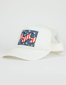 BILLABONG Across Waves White Womens Trucker Hat_
