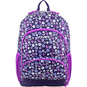 Fuel Girls Multi-Pocket Deluxe School Backpack