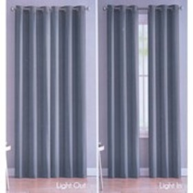 VCNY Set of 2 Faux Silk Energy Saving Window Panel