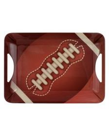 Pfaltzgraff Melamine Rectangular Football Tray
