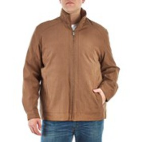 LONDON FOG Big & Tall Bomber Jacket With Quilted L