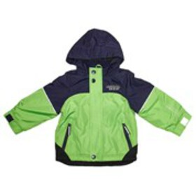 LONDON FOG Baby Boys Colorblock Windbreaker with H