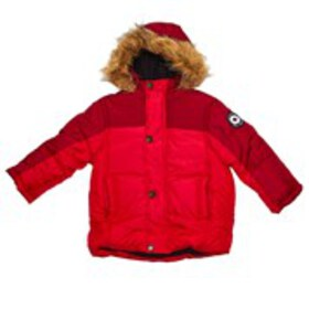 BEN SHERMAN Baby Boys Faux Fur Hooded Puffer (12-2