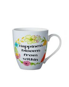 Pfaltzgraff Happiness Blooms From Within Mug