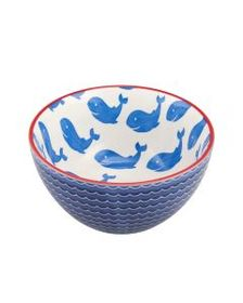 Pfaltzgraff Blue Whale Soup Cereal Bowl