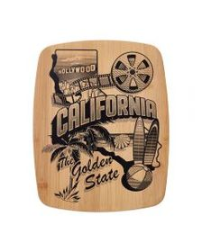 Pfaltzgraff 11 x 14 Bamboo Cutting Board Californi