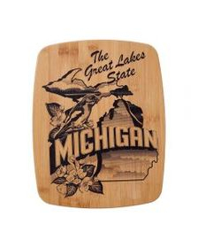 Pfaltzgraff 11 x 14 Bamboo Cutting Board Michigan