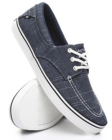 Nautica albemarle canvas boat shoes