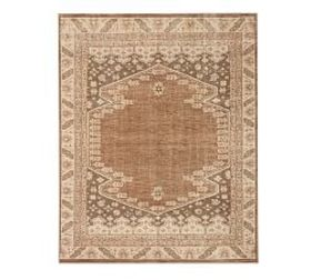 Pottery Barn Cleo Hand-Knotted Rug - Neutral Multi