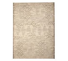 Pottery Barn Breah Hand-Knotted Rug - Neutral Mult