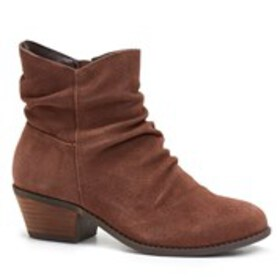 Womens Slouch Pointy-Toe Booties