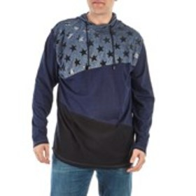 Big & Tall Color Block Star Hoodie