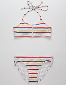 FULL TILT Stripe Girls Bikini Set_