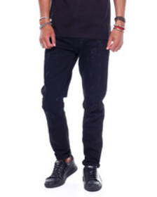 SMOKE RISE relaxed fit tapered jean black onyx rin