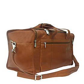Piel Travel Duffle with Side Pocket