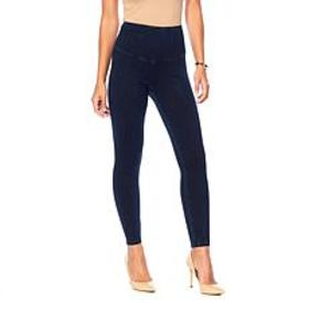 """As Is"" Yummie Signature Waistband Denim Jegging"