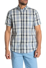 Ben Sherman Dogtooth Check Short Sleeve Union Fit