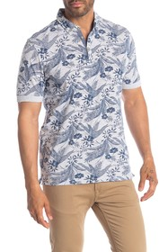 Report Collection Palm Print Polo