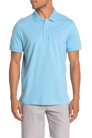 TailorByrd Short Sleeve Stretch Pique Polo