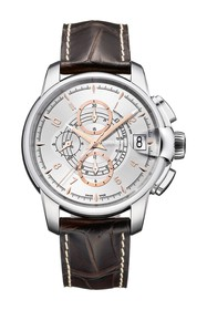 Hamilton Men's RailRoad Auto Chrono Leather Watch