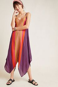 Anthropologie Mila Strappy Jumpsuit