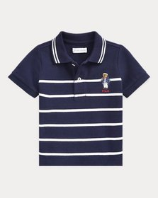 Ralph Lauren Captain Bear Cotton Mesh Polo