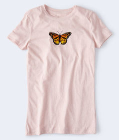 Aeropostale Butterfly Graphic Tee