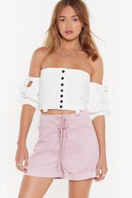 Nasty Gal Womens Lilac Which Strings Me to the Poi