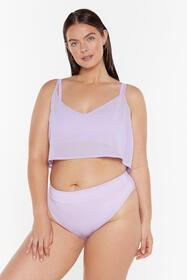 Nasty Gal Womens Lilac Sittin' On the Dock of the