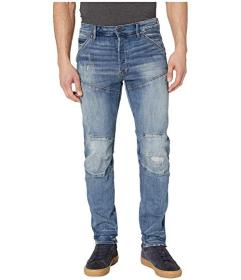 G-Star 5620 3D Straight Tapered Jeans in Dark Aged
